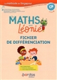 LES MATHS AVEC LEONIE CP 2019 FICHIER DE DIFFERENCIATION PHOTOCOPIABLE